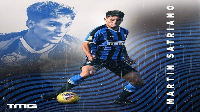 Kebahagiaan Martin Satriano Tembus Skuat Inter Milan, Idolakan Duet Lukaku & Lautaro