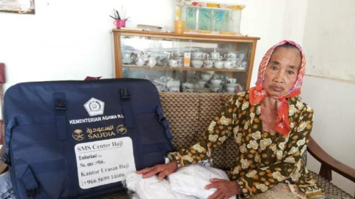 Calon Haji Tertua Asal Malang, Rajin Menabung Hasil Panen Tebu