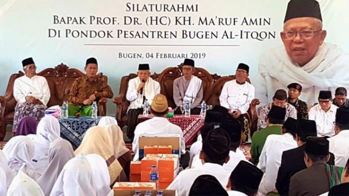 Ulama dan Kiai Kampung Tangerang Dukung Jokowi-Ma'ruf Amin