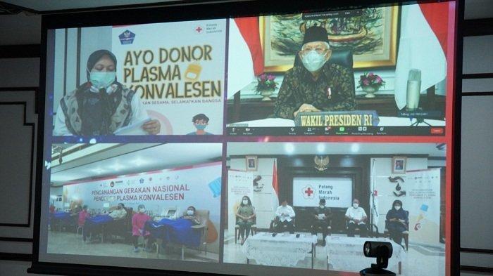 Wapres Ma'ruf Amin Canangkan Gerakan Nasional Donor Plasma Konvalesen untuk Tangani Covid-19