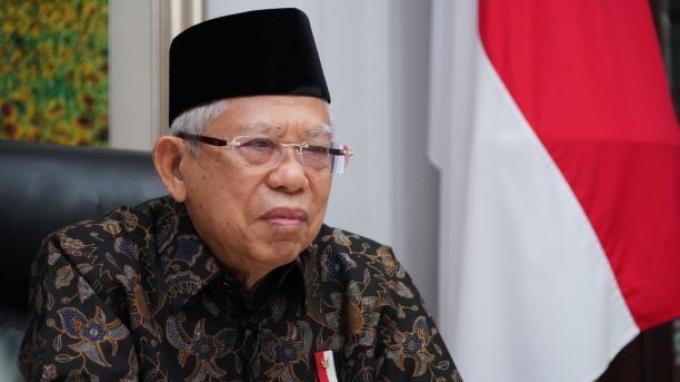Bicara Soal SDM Unggul, Wapres Ma'ruf Amin Dorong Mathla'ul Anwar Berkontribusi dalam Masyarakat