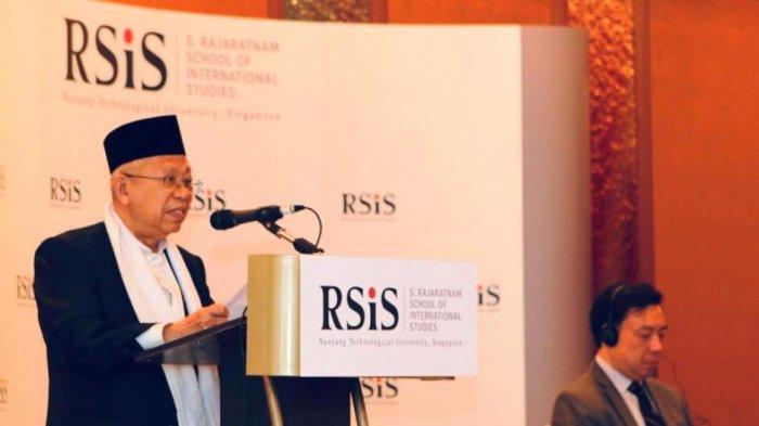 Ma'ruf Amin Bertekad Kurangi Kesenjangan Ekonomi Umat