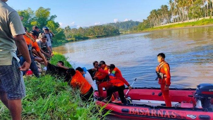 BREAKING NEWS : Hilang Sejak Rabu Kemarin, Marvinta Ditemukan Tim SAR Gabungan