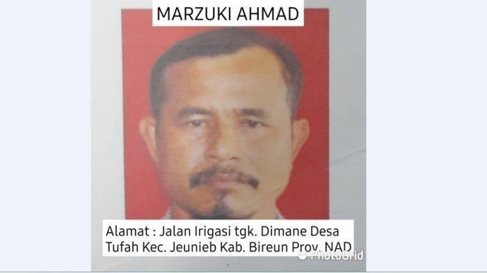 Marzuki Ahmad, satu di antara enam tahanan BNNP yang kabur dari