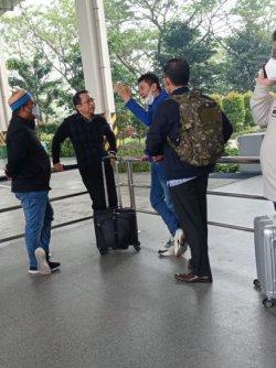 Tiba di Bandara Kualanamu, Demokrat : Marzuki Alie Katanya Mau Hadiri KLB Sebagai Undangan