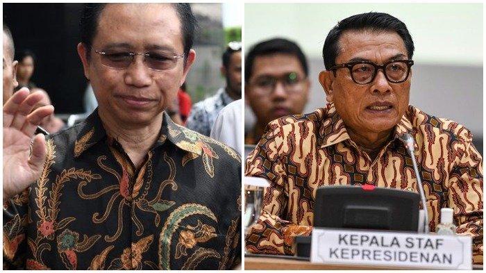 Marzuki Alie dan Moeldoko Beri Tanggapan saat Namanya Disebut Terlibat dalam Kudeta Partai Demokrat