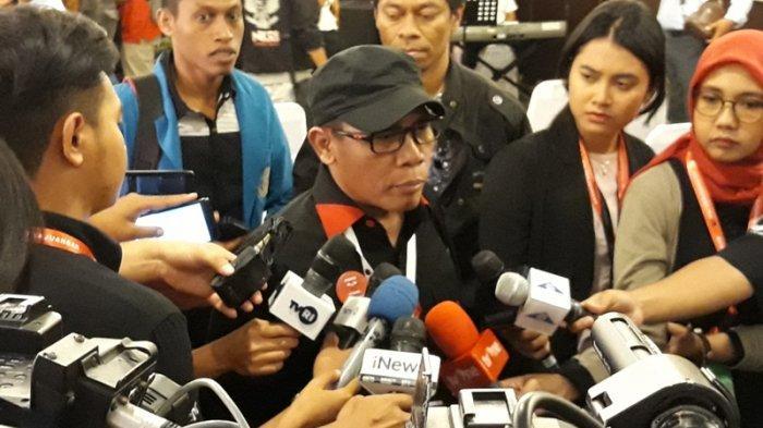 Politikus PDI Perjuangan Masinton Pasaribu di Hotel Prime Plaza, Sanur, Bali,  Jumat, (9/8/2019).