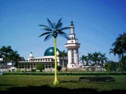 Masjid Agung Ciamis Tanpa Bangunan di Zaman Kanjeng Dalem