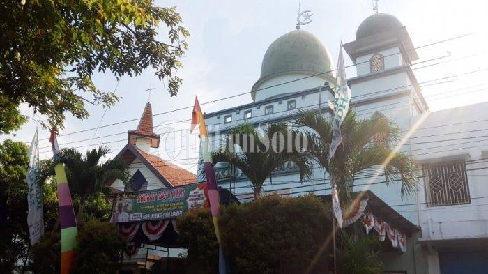 Saling Toleransi, Gereja di Solo Undur Jadwal Kebaktian agar Umat Muslim Bisa Salat Id Berjamaah