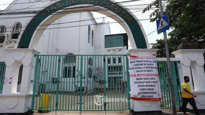 Masjid Cut Meutia Menteng Gelar Salat Idul Fitri Besok, Jemaah Diimbau Bawa Sajadah Sendiri