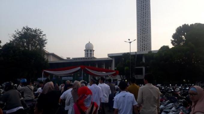1000 Penyandang Disabilitas Mendapat Undangan Shalat Idul Adha di Masjid Istiqlal