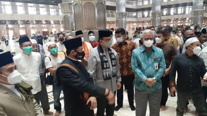 Masjid Istiqlal Kembali Dibuka untuk Umum, Jumlah Jemaah Dibatasi Maksimal 2 Ribu Orang