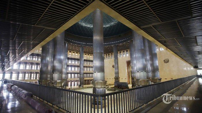 Masjid Istiqlal Makin Ramah untuk Kaum Disabilitas, Tersedia Lift dengan Kaca Transparan