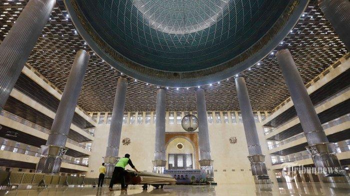 MasjidIstiqal Dibuka untuk Tarawih dan Salat Lima waktu, Sahur dan Bukber Ditiadakan