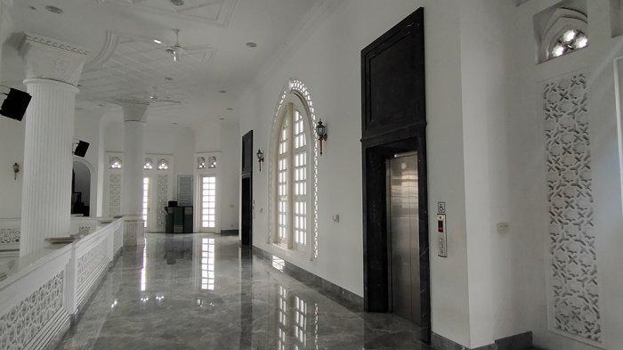 Terinspirasi Masjid Nabawi, Masjid Ramlie Musofa Sediakan Lift dan Tempat Duduk di Area Wudhu