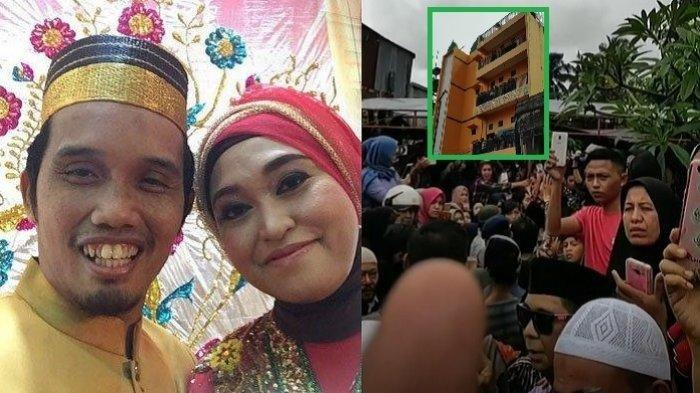 Istri Ustaz Maulana Bangun Masjid 4 Lantai dari Hasil Jualan Perhiasan Emas, Begini Wujudnya