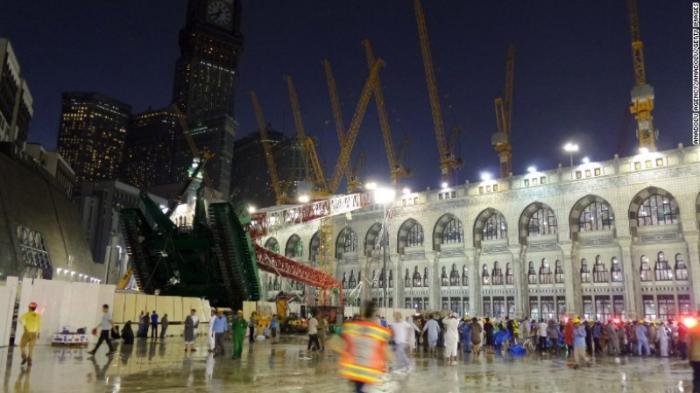 Pemerintah Arab Saudi Pastikan Insiden Crane Jatuh Tak Ganggu Ibadah Haji