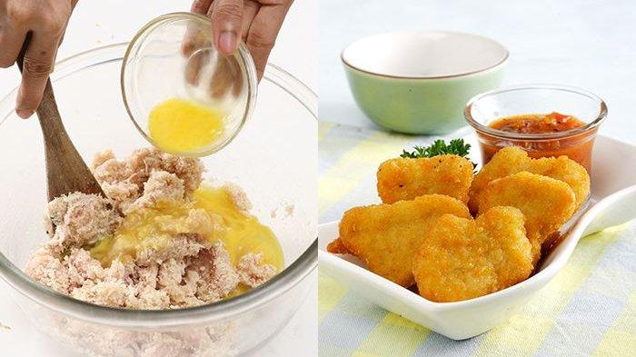 Gak Perlu Beli, Bikin Nugget Ayam Sama Persis dengan yang Kemasan Gampang Banget, Ini Caranya