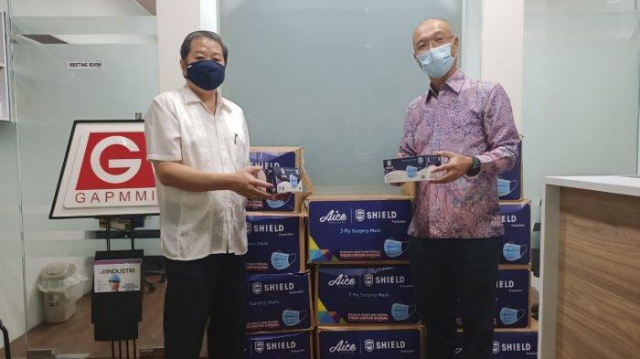 Jutaan Masker Medis Didistribusikan ke Ribuan Pedagang Kecil dan UMKM
