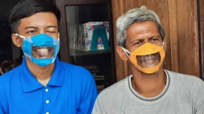 Warga di Sleman Ciptakan Masker Transparan untuk Teman Bisu dan Tuli Agar Lebih Mudah Berkomunikasi