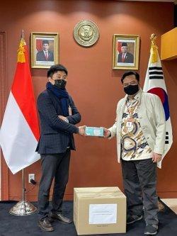 WNI Dapat Bantuan 40 Ribu Masker dari UMKM Korea Selatan