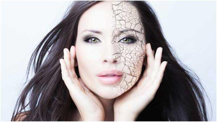 Masker wajah untuk kulit kering saat musim dingin.