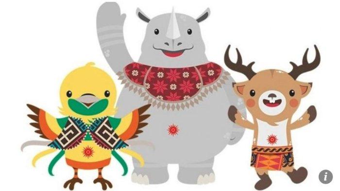 Mengenal Lebih Dekat Tiga Maskot Asian Games 2018 Bhin Bhin, Atung, dan Kaka