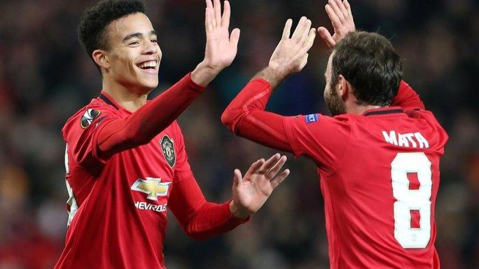 Mason Greenwood dan Juan Mata (@masongreenwood)