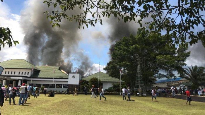Siswa di Wamena Awalnya Hanya Ingin Laporkan Guru ke Kantor Polres Namun Tiba-tiba Berakhir Rusuh