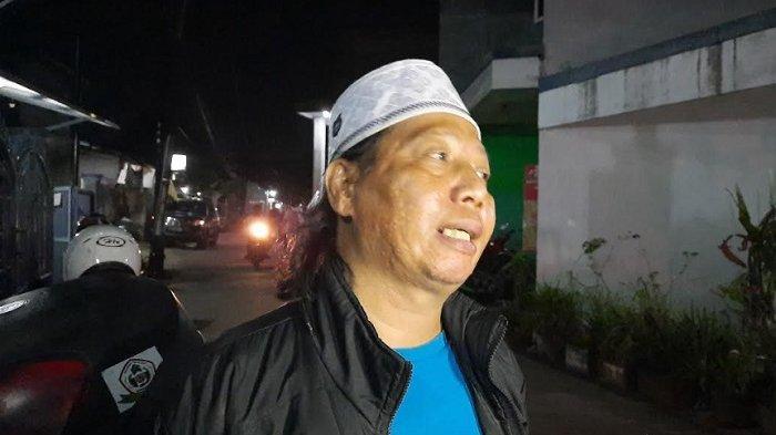 Mastur ditemui di kawasan Cimanggis, Depok, Jawa Barat, Kamis (16/7/2020).