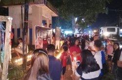 Masyarakat Minut Gelar Aksi 1000 Lilin Untuk Ahok
