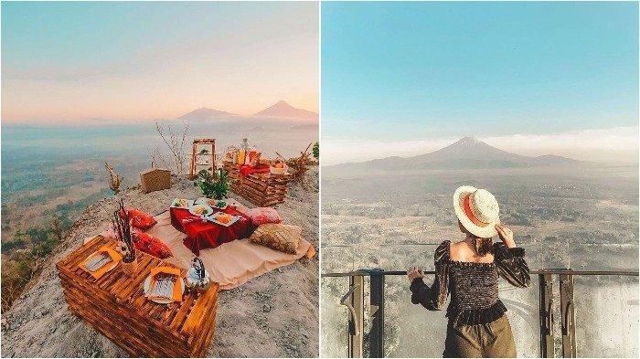Mata Langit Borobudur Viral Di Medsos Tempat Wisata Yang Sajikan Pemandangan Instagramable Tribunnews Com Mobile