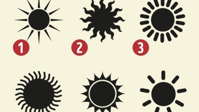 Tes Kepribadian - Mana Matahari yang Kamu Pilih? Jawabannya Ungkap Sisi Lainmu yang Tersembunyi!