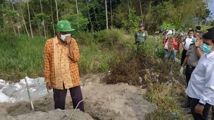 Material Diduga Limbah Logam Ditemukan di Kabupaten Kediri, Digunakan Sebagai Penahan Tebing