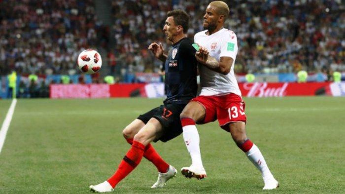 Kroasia vs Denmark: Perpanjang Waktu Dimulai lagi