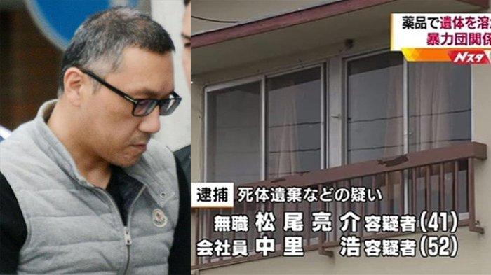 Anggota Yakuza Jepang Memutilasi Korbannya, Potongan Tubuhnya Dihancurkan dengan Cairan Kimia