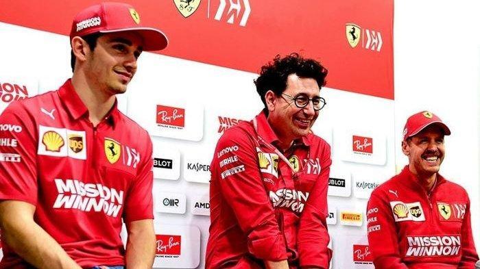 Ferrari Bantah Sengaja Gagalkan Kemenangan Leclerc di GP Singapura 2019