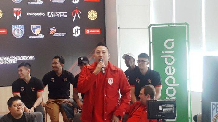 Timnas Basket Indonesia Ingin Gunakan Jasa Crisstian Ronaldo kata Maulana Fahreza Tamrella