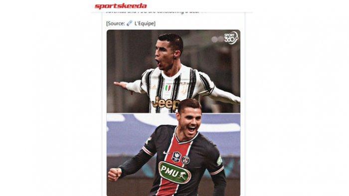Bursa Transfer Juventus, Icardi Datang, Ronaldo Ditendang, 4 Pemain Berlabel 'Untouchable'