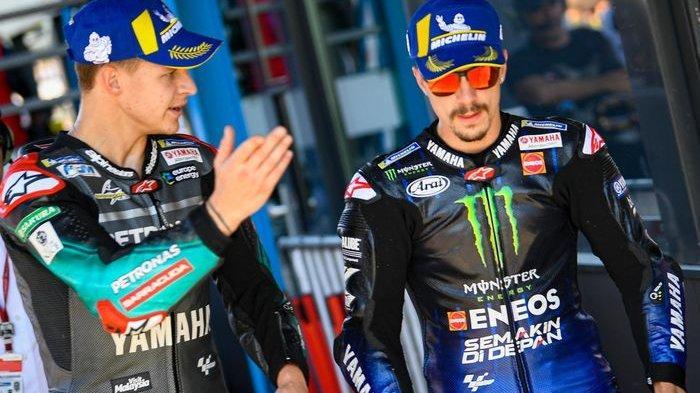 Maverick Vinales dan Fabio Quartararo menjadi favorit Giacomo Agostini di MotoGP 2021