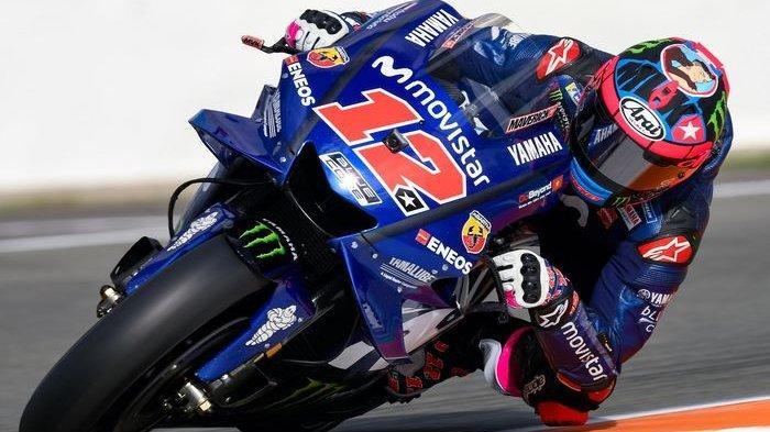 Maverick Vinales tampil mengesankan di tes MotoGP Valencia