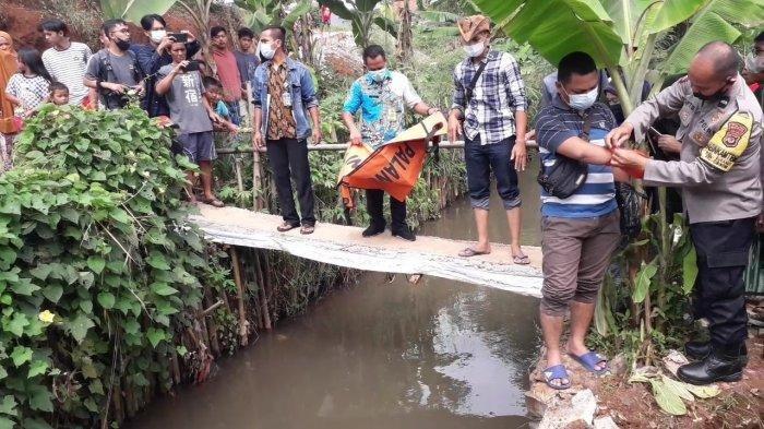 Jono Temukan Mayat Bayi dan Ari-arinya Tersangkut Bebatuan di Pemancingan Dekat Sungai Cimahpar