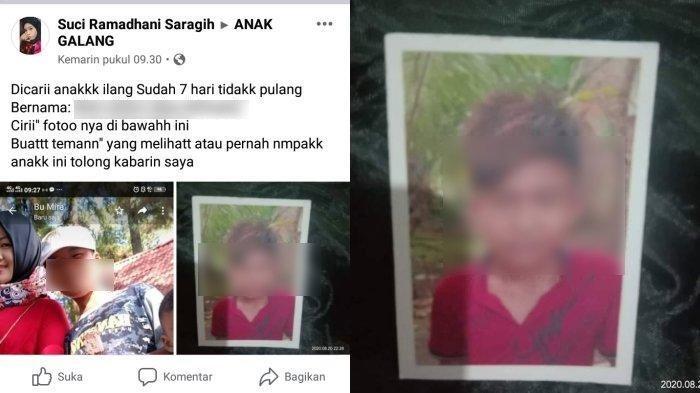 NW (13) ditemukan tewas dan terikat dalam karung di aliran Sungai Sei Merah, Kecamatan Tanjung Morawa, Sumatera Utara (Sumut). Foto korban semasa hidup. (Istimewa)