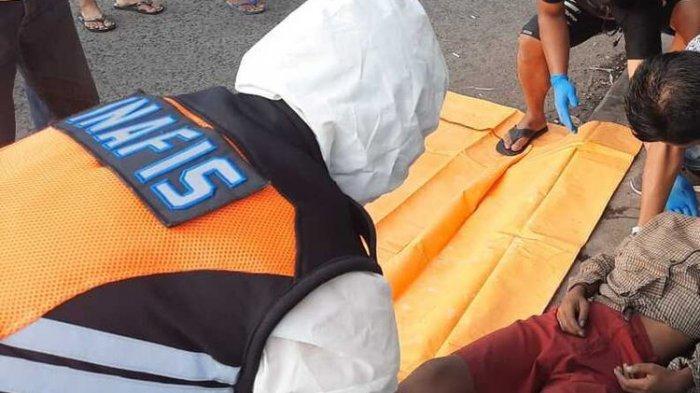 Identitas Mayat Bocah di Trotoar Terminal Tipe A Indihiang Kota Tasikmalaya Belum Diketahui