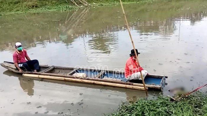 Pencari Cacing Sutera Temukan Mayat Tanpa Identitas di Sungai Ngrowo Kabupaten Tulungagung