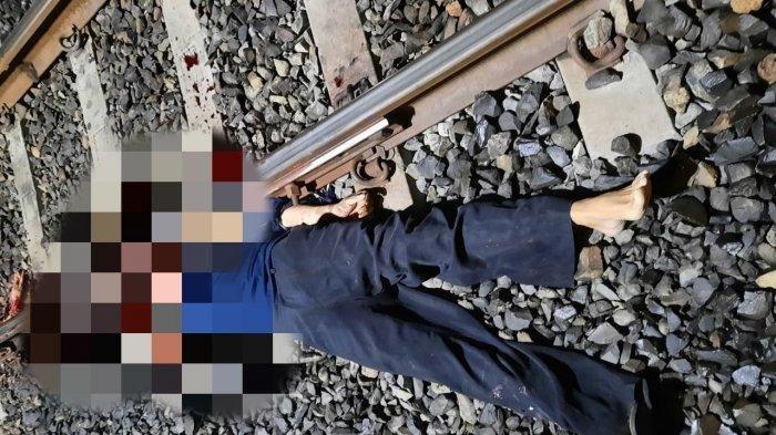 Pria Paruh Baya di Lampung Ditabrak Kereta Api, Tubuhnya Terpotong