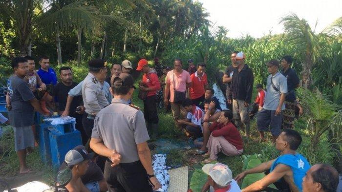 Mayat Ni Nyoman Roya Ditemukan di Bendungan Tungku Desa Mengwi