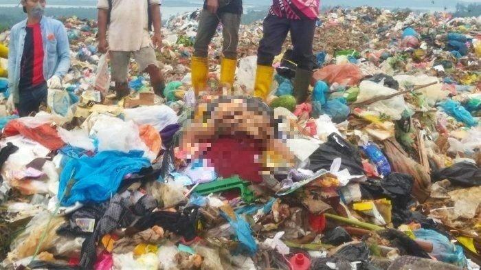 Kais Sampah, Pemulung Teriak Temukan Mayat Pria Kondisi Tangan Terikat dan Kepala Ditutup Karung