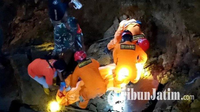 Penambang di Tulungagung Tewas Tertimbun Longsor, Ditemukan Antara Guguran Batu Raksasa dan Tebing