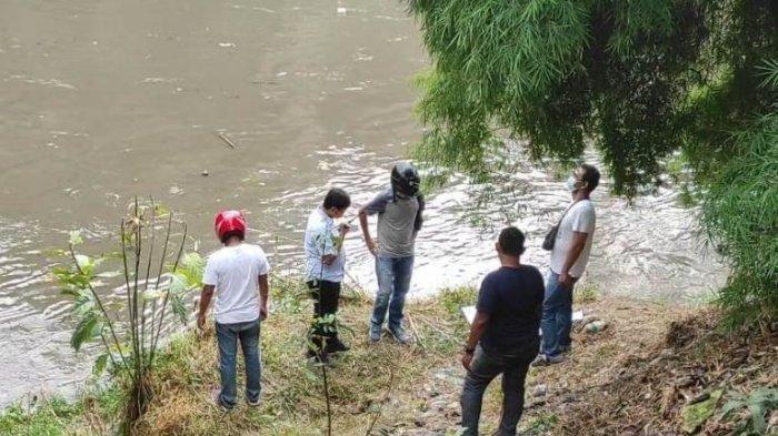 Pencari Barang Bekas Temukan Mayat Bayi Terapung di Sungai Deli, Sempat Dikira Boneka